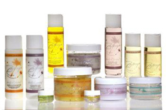 Aromatherapy massage supplies